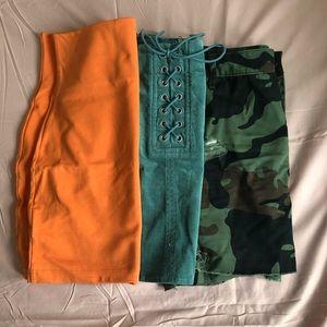 Set of 3 Chic Mini Skirts